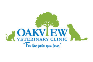 Oak view Veterinary Clinic Logo
