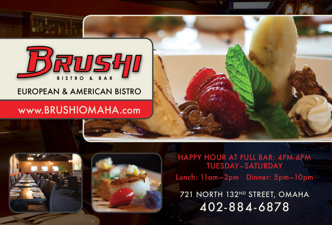 Brushi Bistro and Bar Ad