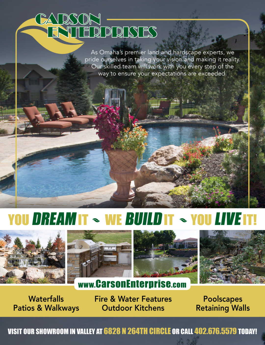 Carson Enterprises Ad