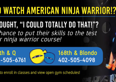 Kids Warrior Gym Ad