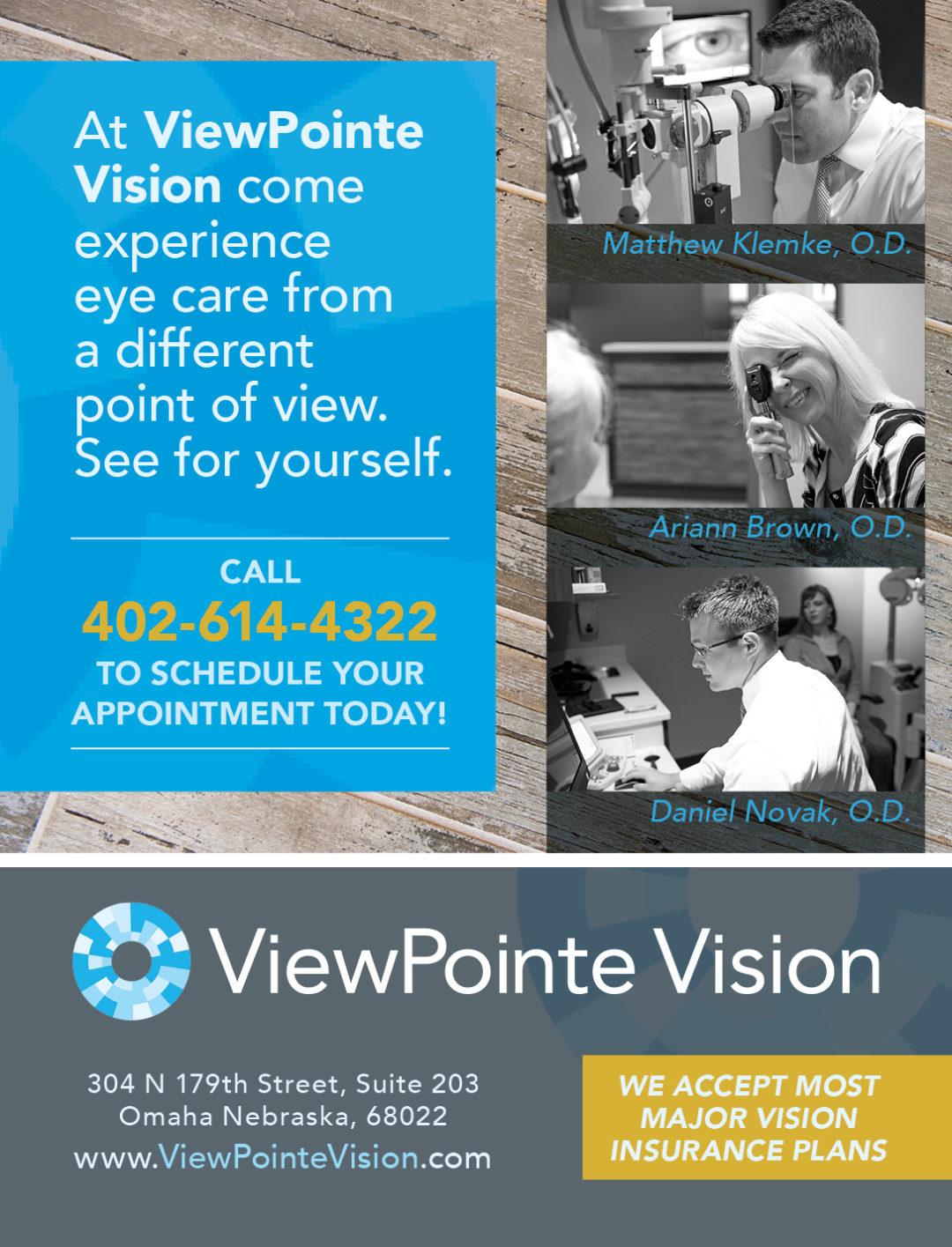 ViewPointe Vision Ad