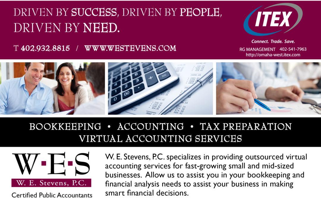 W. E. Stevens CPA Ad