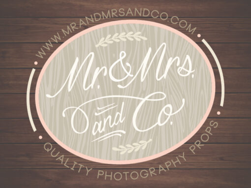 Mr. & Mrs. and Co. Logo