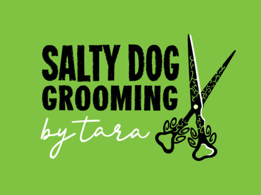Salty Dog Grooming Logo