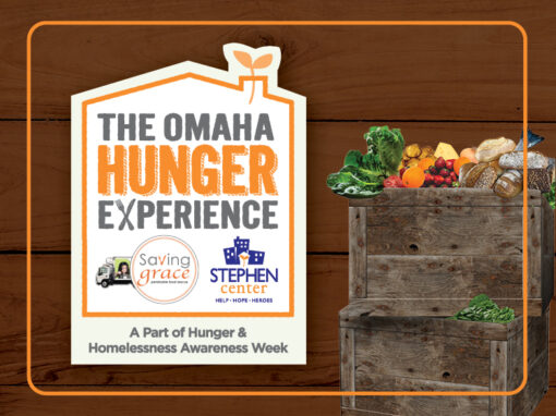 The Omaha Hunger Experience Logo